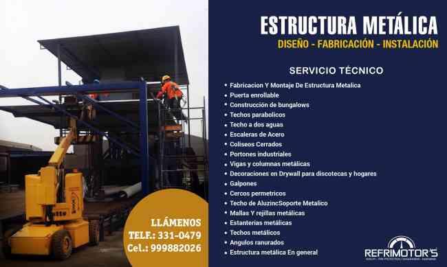 Servicio De Fabricación De Estructuras Metálicas Barantas